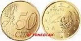 VF MOEDA  DE 50 CENTIMOS  DE ESPANHA 2003 - Espagne