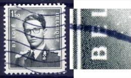 Belgien Nr.973         O Used       (160) B In BELGIE Unten Abgeschliffen ! - Abarten Und Kuriositäten