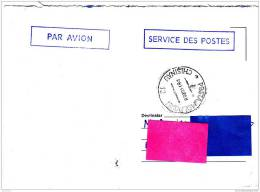 Z] Lettre Port Payé Postage Paid Moldavie Moldavia Oblitération Cancellation - Moldavie