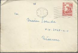 Letter - Ljubljana, 7.4.1953., Yugoslavia (military Post - V.P. 2148-C-1) - 1945-1992 Socialist Federal Republic Of Yugoslavia
