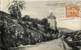 Lot -ref 185- La Vallee Du Cele -le Chateau De Cabrerets   -carte Bon Etat  - - France