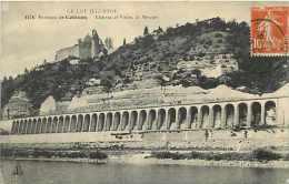 Lot -ref 184- Environs De Cahors -chateau Du Viaduc De Mercues   -carte Bon Etat  - - France