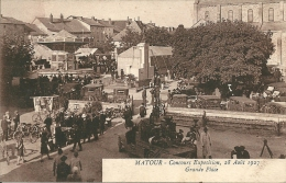 MATOUR - Concours Exposition ,du 28 Aout 1927 -  Grande Place - France