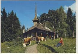 Kapelle SCHWENDEN-GRIMMIALP  -  Im Diemtigtal  - 1981 - BE Berne