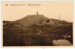 Langemark, Langemarck 1914 1918 Eglise Et Place Du Village (pk12165) - Langemark-Poelkapelle