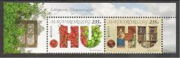 "HUNGRIA / HUNGARY / UNGARN / MAGYAR- EUROPA 2012 -TEMA ANUAL "" VISIT MAGYAR"".- SERIE 2 V. HORIZONTAL De La HOJITA BLOQUE - 2012"