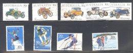 AUSTRALIA, 1984 Cars + 1984 Skiing Sets Fine Used - 1980-89 Elizabeth II