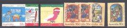 AUSTRALIA, 1988 Christmas + 89 Christmas Sets Fine Used - 1980-89 Elizabeth II