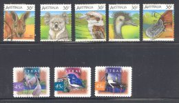 AUSTRALIA, 1986 Wildlife Set + 1997 Birds Fine Used - 1980-89 Elizabeth II