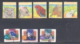 AUSTRALIA, 1987 Wildlife Set + 1997 Birds Fine Used - 1980-89 Elizabeth II