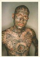 TATOUAGE TATTOO  HOMME TATOUE  PUBLICITE POUR JEU GAME BOY ADVANCE EDIT BOOMERANG BELGIQUE - Cartes Postales