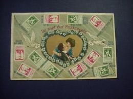 De Taal Der Postzegels - Timbres (représentations)