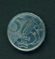 BRAZIL - 2002 50c Circ. - Brazil