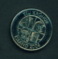 ICELAND - 2004 10k Circ. - Iceland