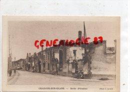 87 - ORADOUR SUR GLANE - SORTIE D´ ORADOUR - PHOTO L. LAVAUX - Oradour Sur Glane