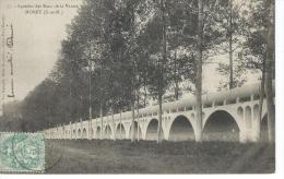 CPA  -  77  -  MORET Sur LOING -  Aqueduc Des Eaux De La Vanne - T.B.E - 1904 - Moret Sur Loing