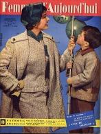 Femmes D'Aujourd'hui 1956 N° 558 12 Janvier Ballon Baudruche Automates Oeuvre Des Gares Marina Vlady Petite Tonkinoise C - Livres, BD, Revues