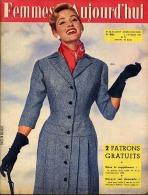 Femmes D'Aujourd'hui 1956 N° 561 2 Février Chauffeuse Taxi Andrée Jaclet Musée Epinal Francis Lemarque Robes Mariées Crê - Livres, BD, Revues