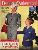 Femmes D'Aujourd'hui 1956 N° 565 1 Mars Marie-Hélène André Natation Blanchisserie Ingrid Bergman Le Carmel Jacques Chail - Livres, BD, Revues