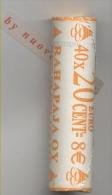FINLANDIA FINLANDE  ROTOLINI Da 40 Monete  20 CENT 2004 : AFFARONE VALORE CATALOGO 200 EURO - Rotolini