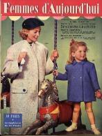 Femmes D'Aujourd'hui 1956 N° 568 22 Mars Manège Ouvreuse Aérium Etretat Jean Bertola Elisabeth France Auxiliatrices Raph - Livres, BD, Revues