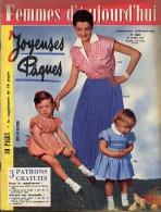 Femmes D'Aujourd'hui 1956 N° 569 29 Mars Joyeuses Pâques Frantz Petri Soeurs Des Prisons Haendel Pardons Bretagne Marcel - Livres, BD, Revues