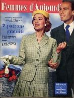 Femmes D'Aujourd'hui 1956 N° 570 5 Avril Cléo Mannequin Rose Felder La Quarantaine Alix Combelle Claude Delvincourt BD B - Livres, BD, Revues