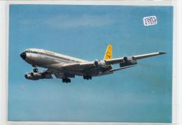 CPM GF  -  Thèmes -  Avion Boeing 707 -330B De La Condor  ( Publicité Cheesy Au Verso) - 1946-....: Moderne