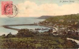 Jersey - St. Aubin (colorisée) - Jersey