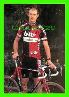 CYCLISME - CHRIS PEERS - LOTTO - MOBISTAR ISOGLASS , 1997 - - Cyclisme