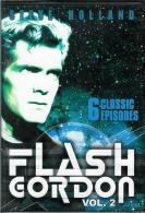 "FLASH  GORDON VOL. 2 * STEVE HOLLAND * ""DVD""  6 CLASSIC EPISODES - NEW / SEALED - TV-Reeksen En Programma's"