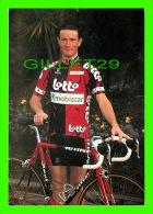 CYCLISME - BENOIT SALMON - LOTTO - MOBISTAR ISOGLASS , 1997 - - Cyclisme