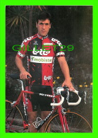 CYCLISME - DJAMOLIDINE ABDOUJAPAROV - LOTTO - MOBISTAR ISOGLASS , 1997 - - Cyclisme