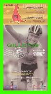 CYCLISME - LYNE BESSETTE (CANADA) - MISSION SYDNEY, 2000 - - Cyclisme