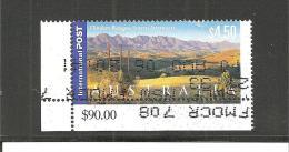 AusMi.Nr.1933/ Flinders Ranges, $ 4,50, Mit Eckrand   O