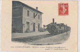 52 // APREY FLAGEY   Gare, Vue Intérieure, Gare De Langres à Poinsoin   Edit J Varney - Frankreich