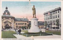 Georgia Augusta Patrick Walsh Monument Barrett Plaza