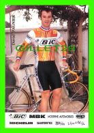 CYCLISME - DAVID PAGNIER - BIC - PHOTO, H. BESSON - - Cyclisme