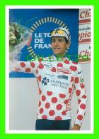 CYCLISME - LE TOUR 2001 - BOULOGNE SUR MER (62) - JACKY DURAND, MAILLOT À POIS - PHOTO, PIERRE LORRIAUX - - Cyclisme