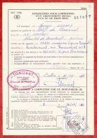 Formular, EF Eisenbahnpaketmarke, Gestempelt Pepinster 1972 (40441) - Belgien