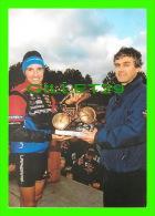CYCLISME - 13e CYCLO-CROSS INTER. DIJON (21)  2000 - JÉROME CHIOTTI, JEAN CHARLES TUAN -- - Cyclisme