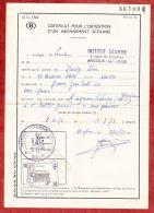 Formular, EF Eisenbahnpaketmarke, Gestempelt Verviers 1972 (40442) - Belgien
