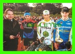 CYCLISME - 13e CYCLO-CROSS INTER. DIJON (21) 2000 - JÉROME CHIOTTI, DAVID DEREPAS, MICHAEL BAUMGARTNER - - Cyclisme