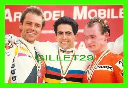 CYCLISME - DOMINIQUE ARNOULD, KLUGE, DEVOS - 6e CYCLO-CROSS DE DIJON(21), 1993 - CREDIT AGRICOLE - - Cyclisme