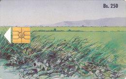 Venezuela, CAN2-0009,First Edition Of Venezuelan Painters, Paisaje Nº 1, 2 Scans. - Venezuela