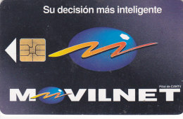 Venezuela, CAN2-0066, Movilnet, 2 Scans. - Venezuela