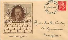 1948  Farrer  Bodin Caver - FDC