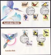 1979 -80   Birds Set On 2 FDCs - FDC
