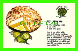 RECETTE - RECEIPE - KEY LIME PIE FROM FLORIDA - - Recettes (cuisine)