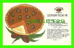 RECETTE - RECEIPE - GRAN'MA GOLDS ORIGINAL SOUTHERN PECAN PIE - - Recettes (cuisine)